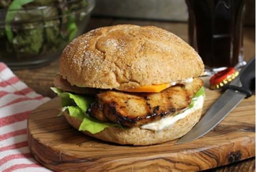 Chicken Fillet Burgers x4