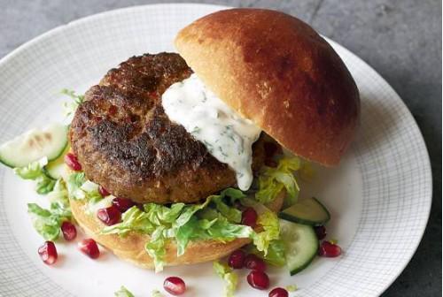 Lamb Burgers x4