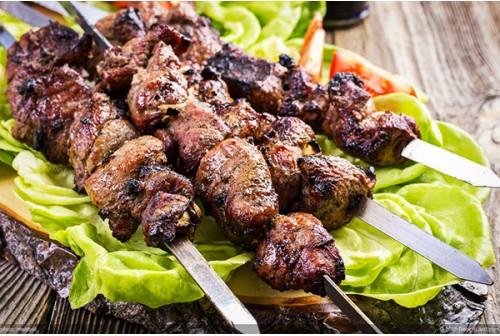Lamb Kebabs Mint x4